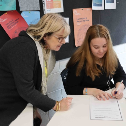 Blended learning for Essential English students