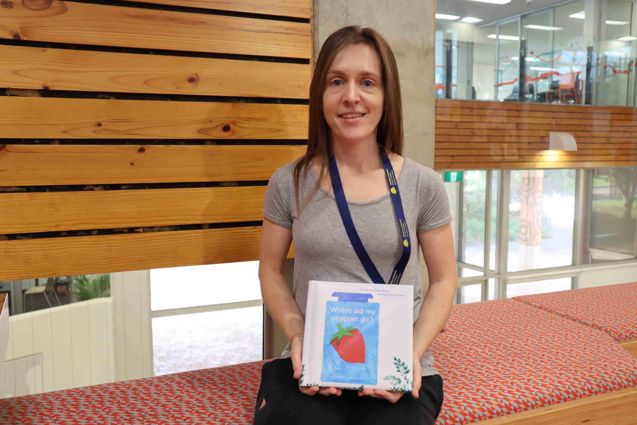 NASC student publishes her first children's book