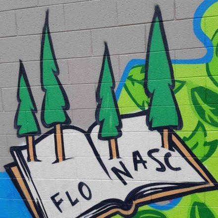 CLC Carpark mural unveiled to celebrate FLO