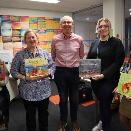 Book Week was Pumped Out with visit from local children's author