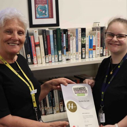 Premier's Reading Challenger celebrates 14 years of reading