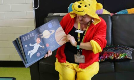 Blast Off with Lisa for National Simultaneous Storytime